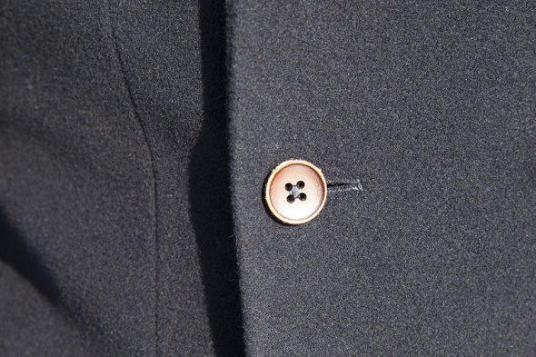 cavalier bleu caban bouton