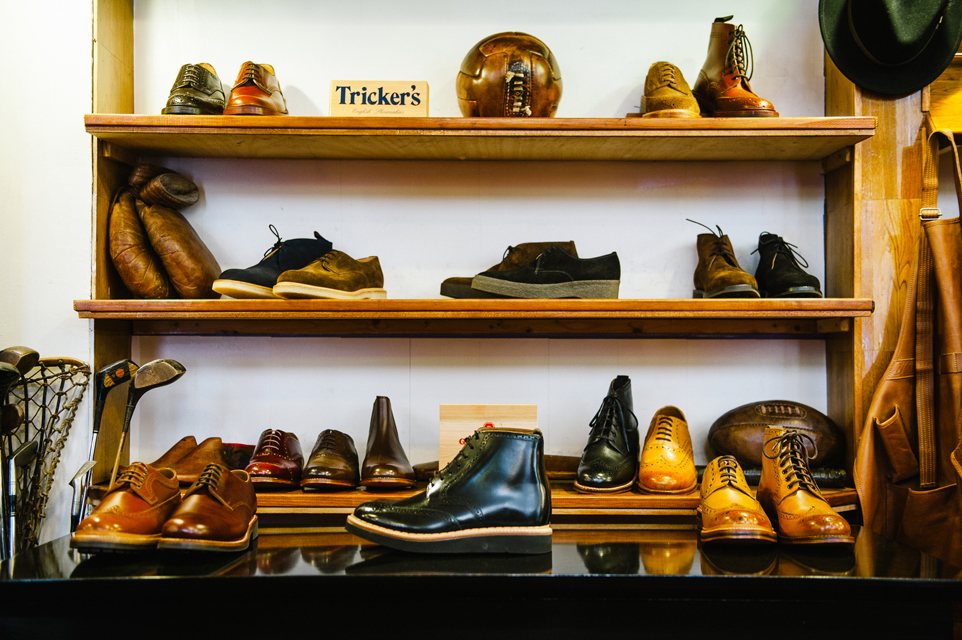 chaussures trickers grenson british shoes