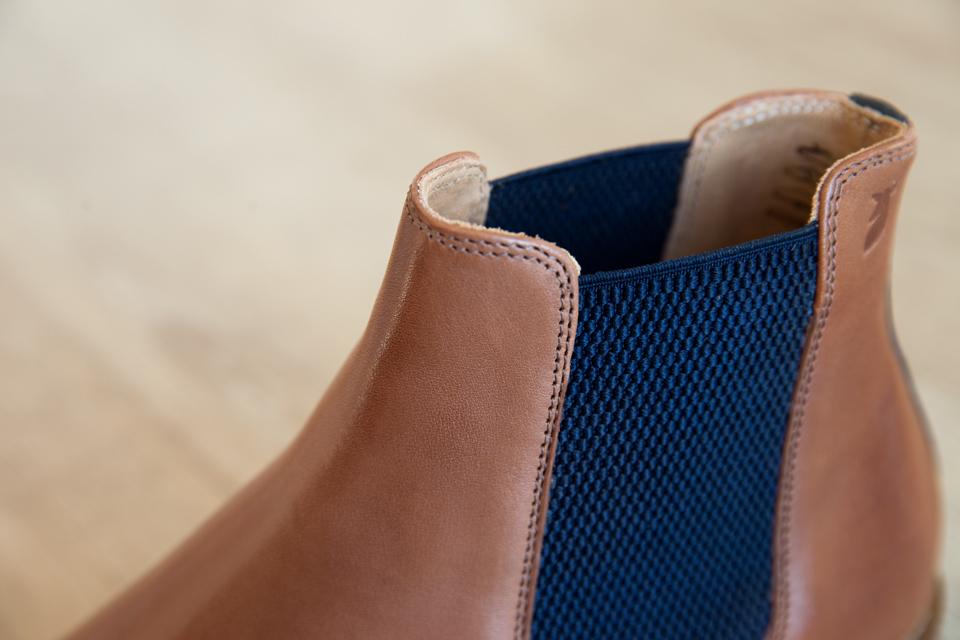 chelsea boots pied de biche coutures