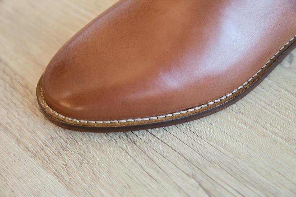 chelsea boots pied de biche trepointe