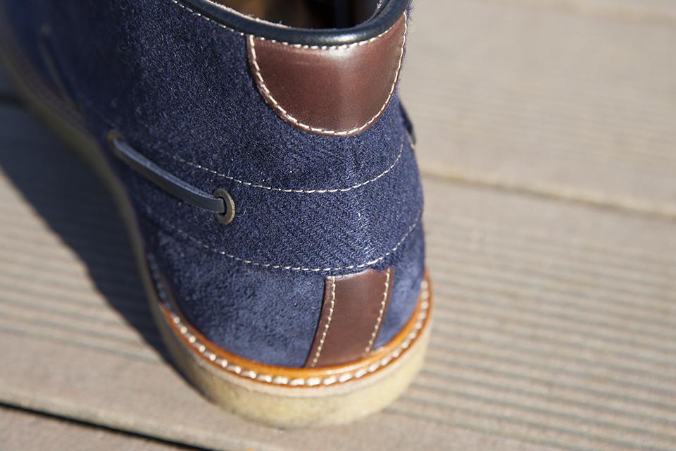 Hacter Chaussures Bateaux Montantes Contrefort
