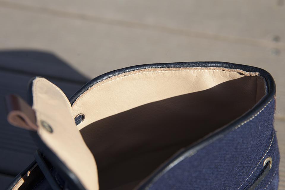 Hacter Chaussures Bateaux Montantes Doublure