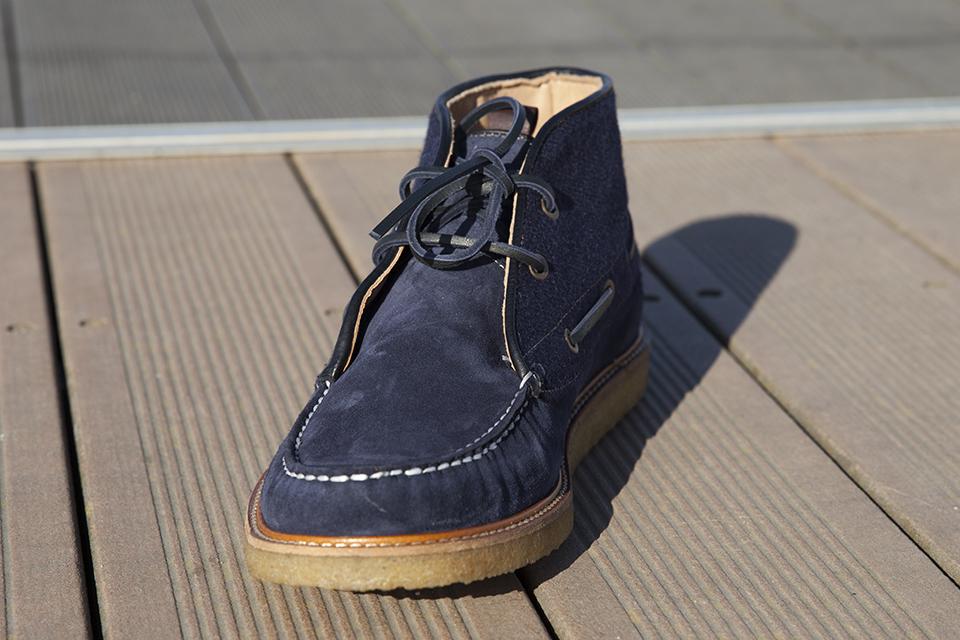 Hacter Chaussures Bateaux Montantes Face
