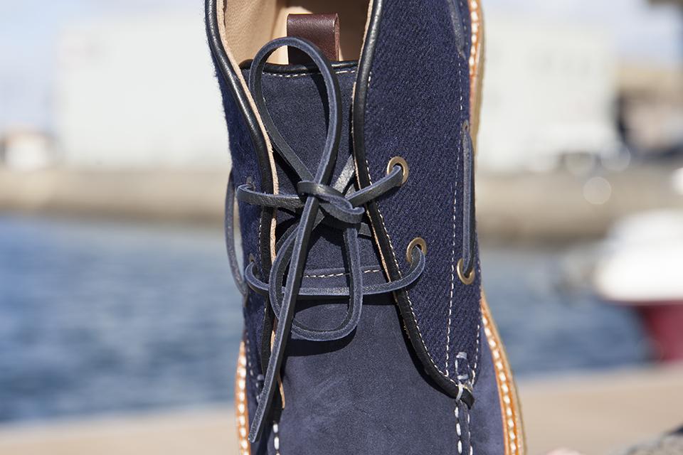 Hacter Chaussures Bateaux Montantes Lacets