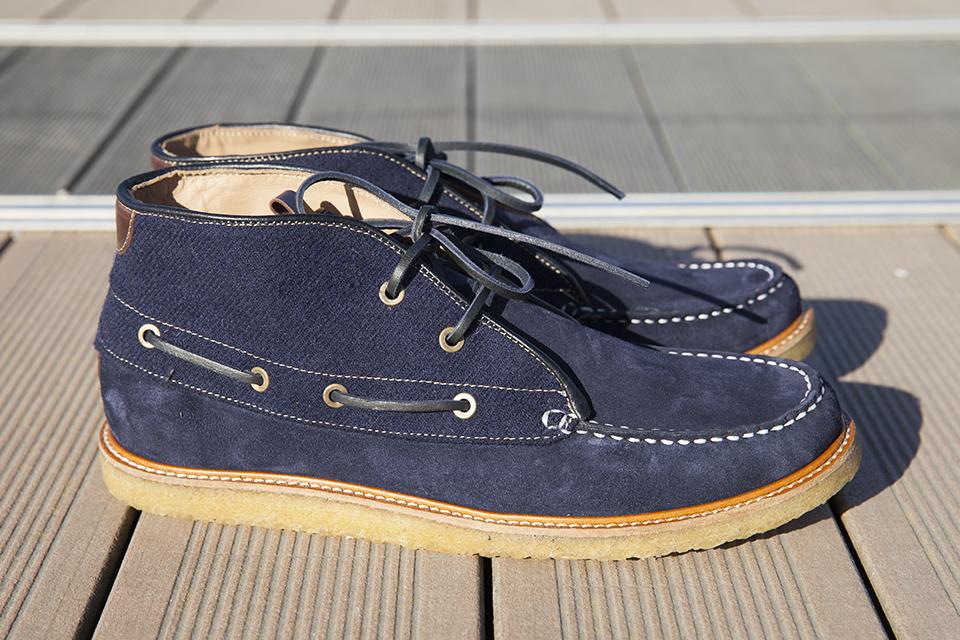 Hacter Chaussures Bateaux Montantes Paire Profil