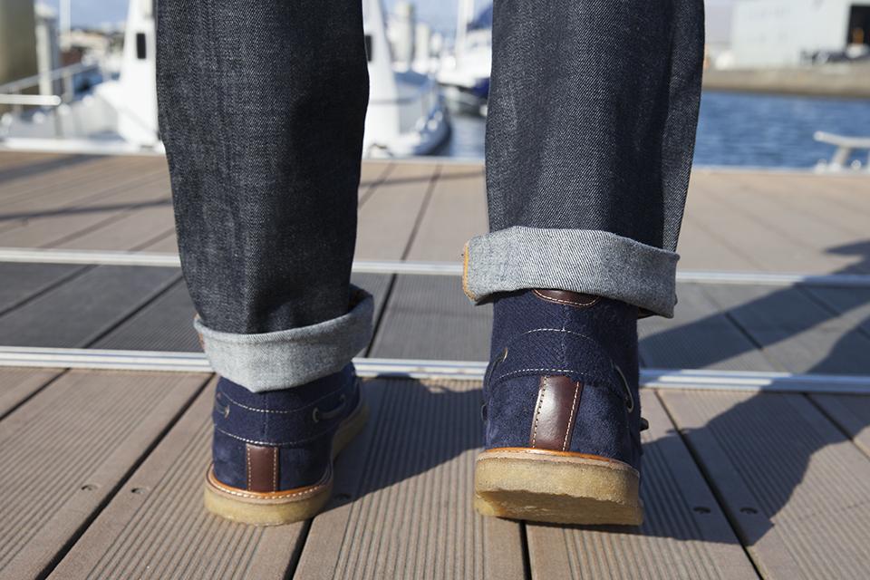 Hacter Chaussures Bateaux Montantes Porte Marche