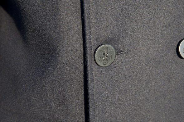 monoprix caban bouton