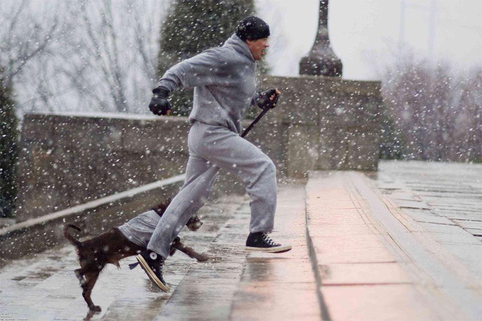 Rocky Balboa Running