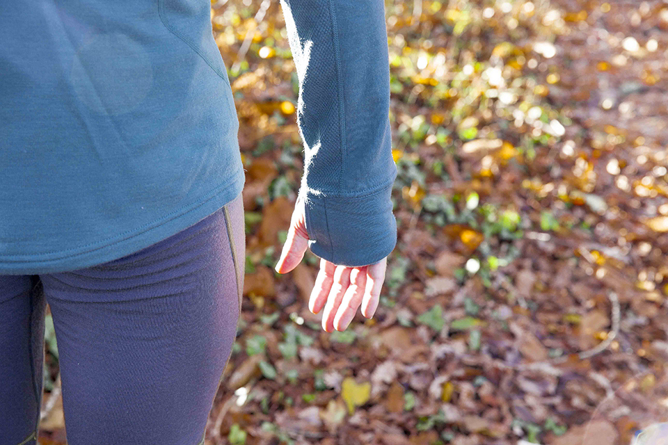 Running hiver mains