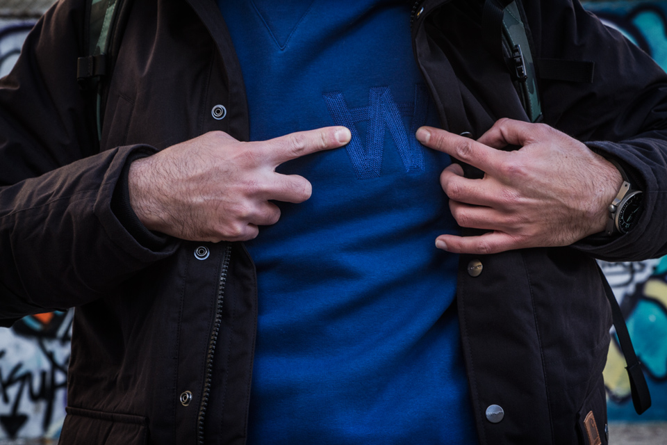 sweatshirt woodwood homme