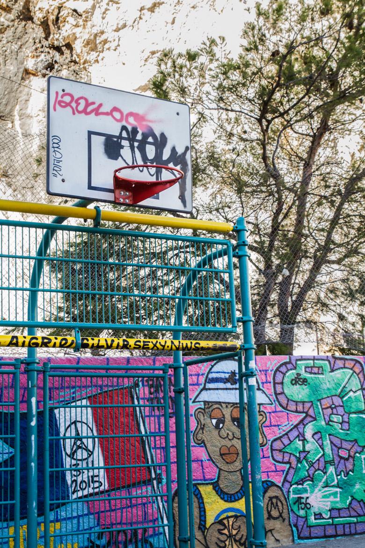terrain basket street