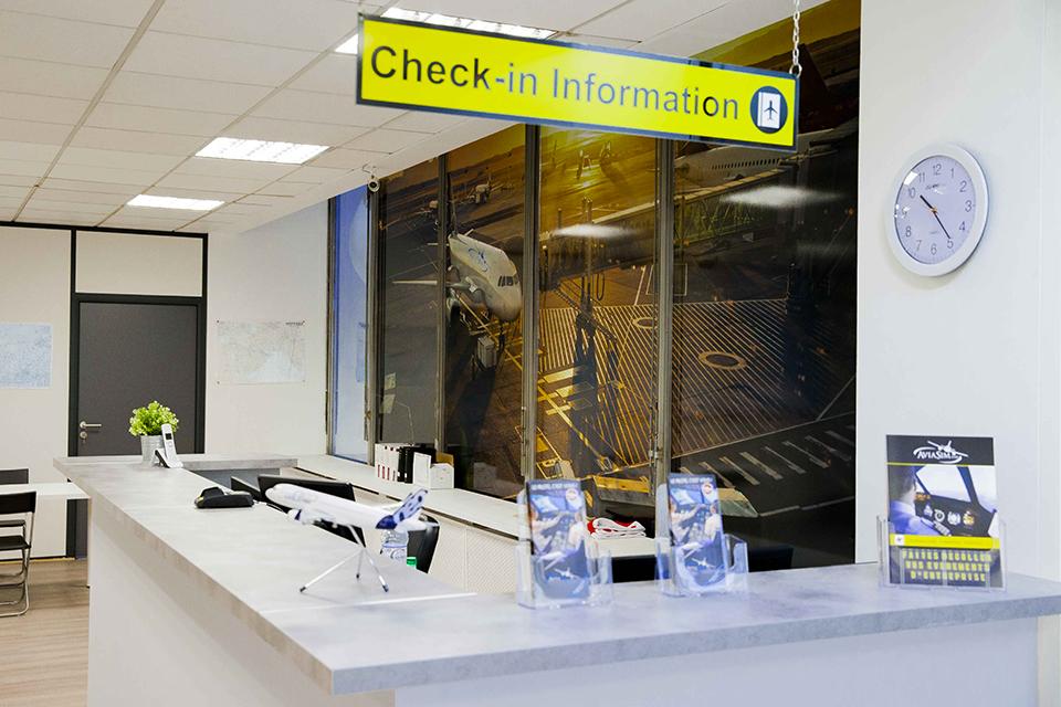 Aviasim Check-in