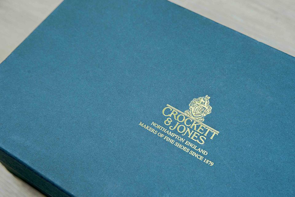 Double boucle Crockett & Jones Logo