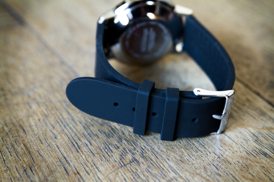 bracelet caoutchouc withings steel
