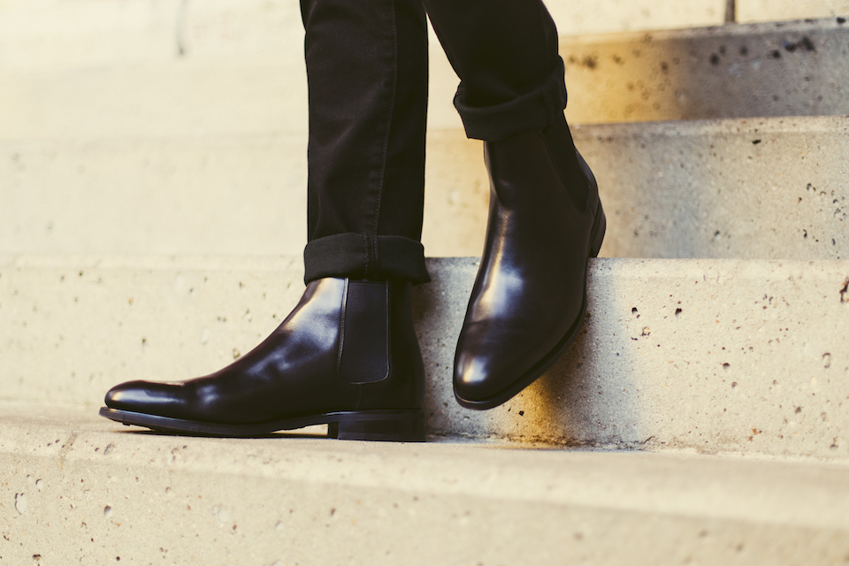 chelsea boot noir loding