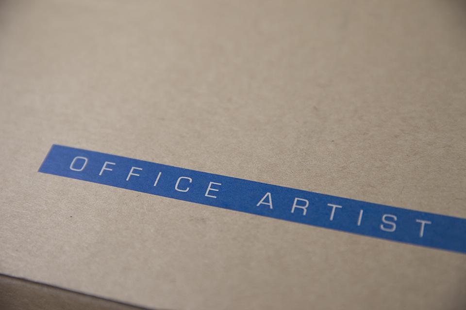Chemise Office Artist Flanelle Boite
