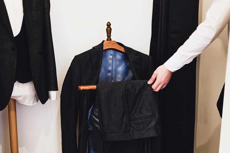 Costume Blandin Essayage Pantalon