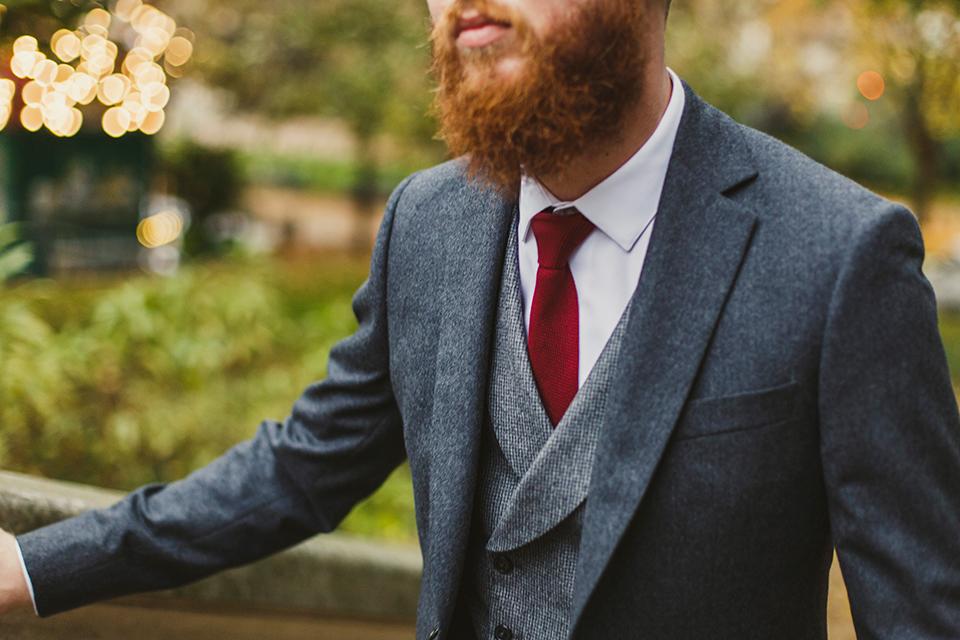 Costume Blandin Porte Cravate