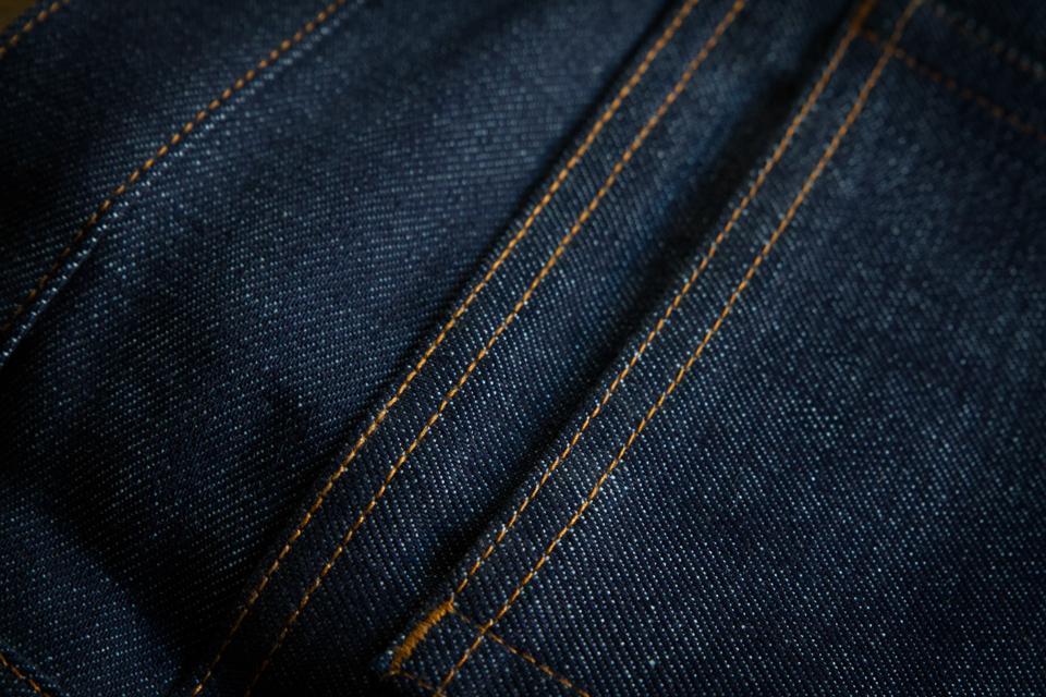 Coutures finitions jeans APC Petit Standard
