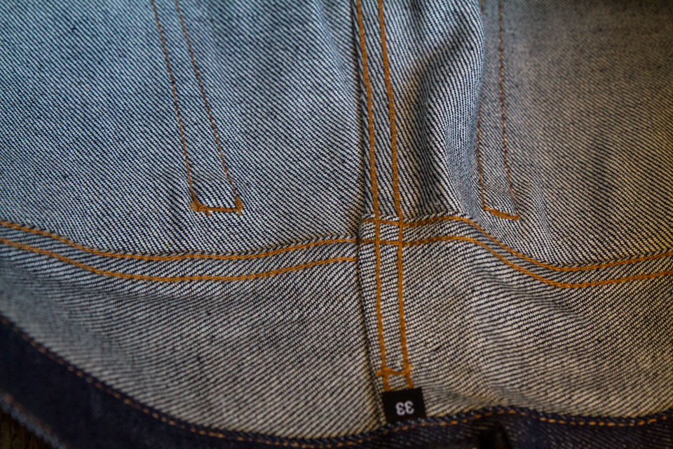 coutures interieur jeans apc