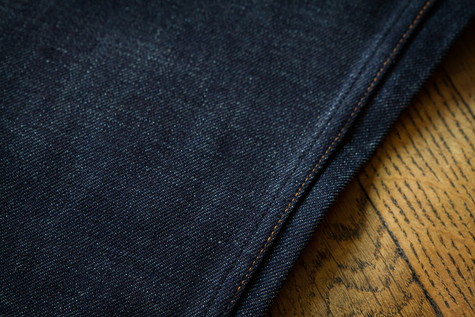 Finitions coutures jeans APC