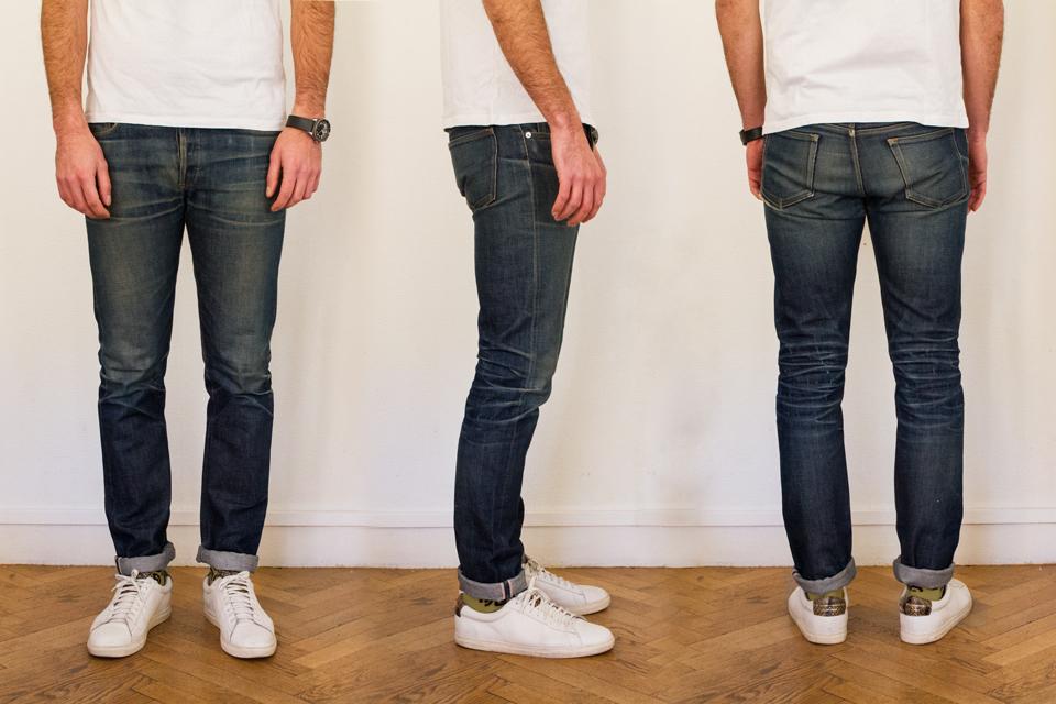 jeans apc petit standard selvedge