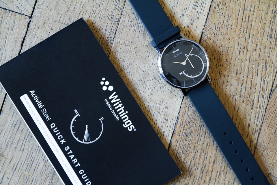 montre withings activite steel