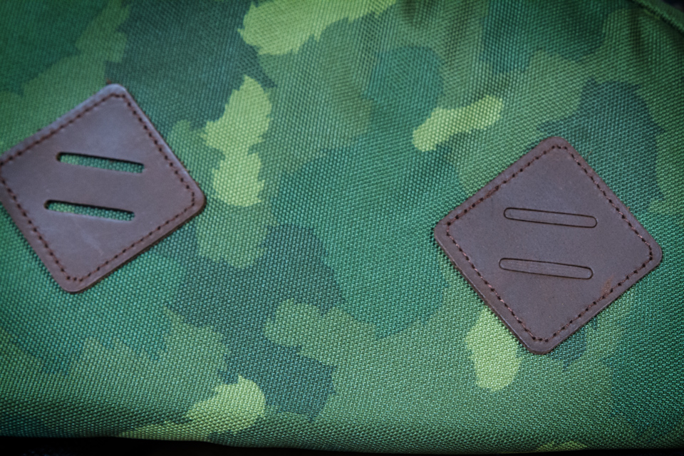 patches cuir sac à dos poler