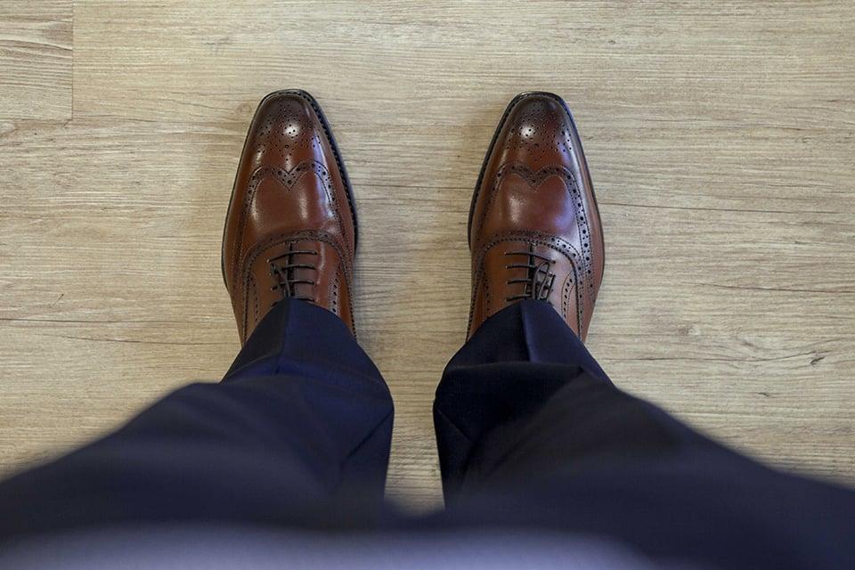 Chaussures Crafteurs Essayage Dessus