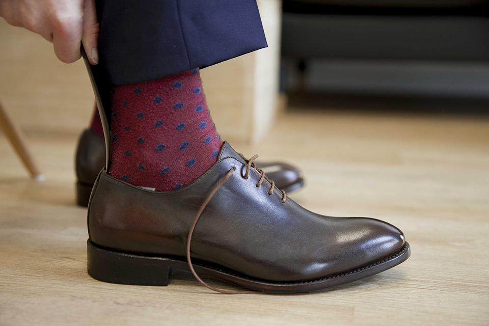 Richelieu Shoe up Essayage