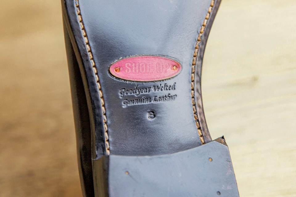 Semelles étiquette Shoe up