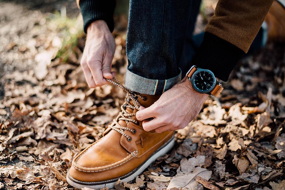 samsung gear s 3 baroudeur chaussure