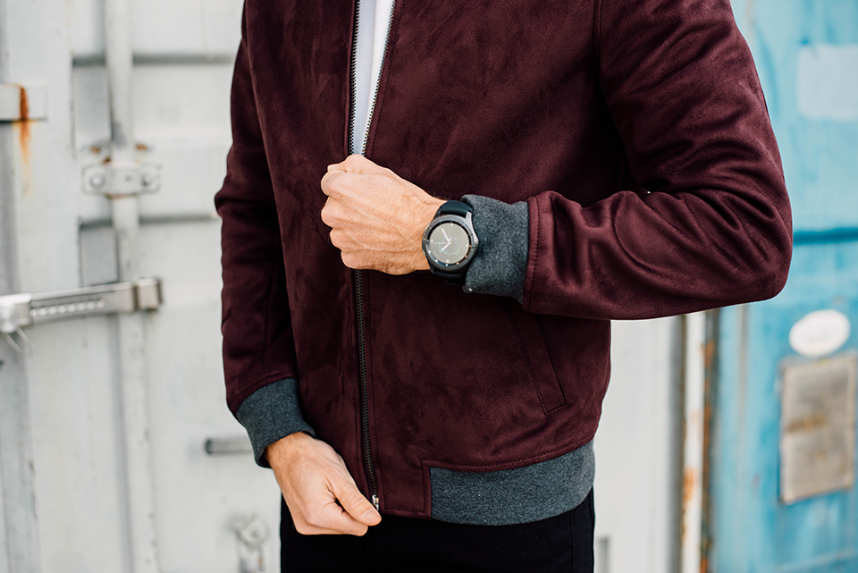 samsung gear s 3 streetwear veste