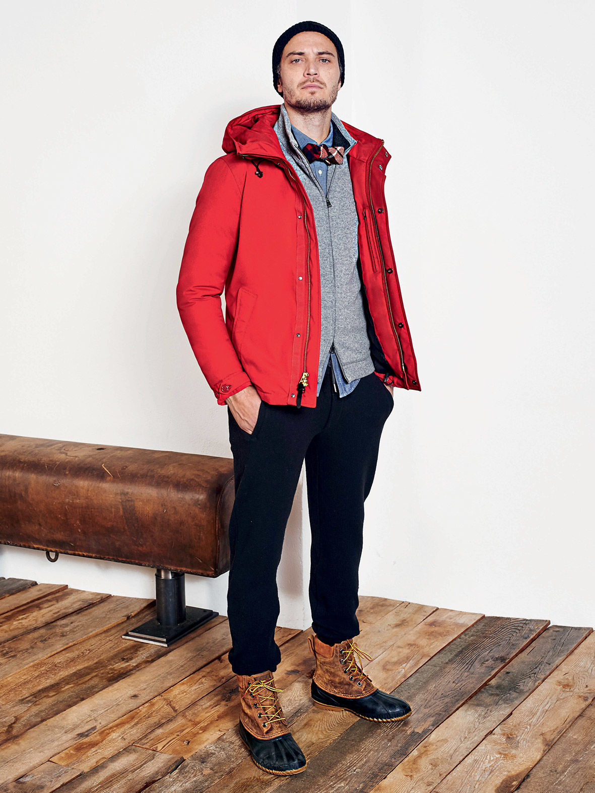 woolrich aw16 look fetes ski