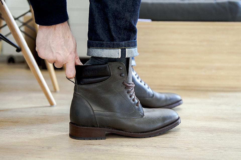 Boots Shoepassion essayage
