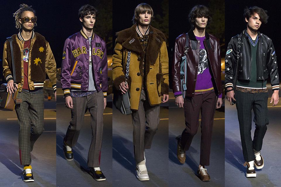 coach paris fashion week fall winter 17 18