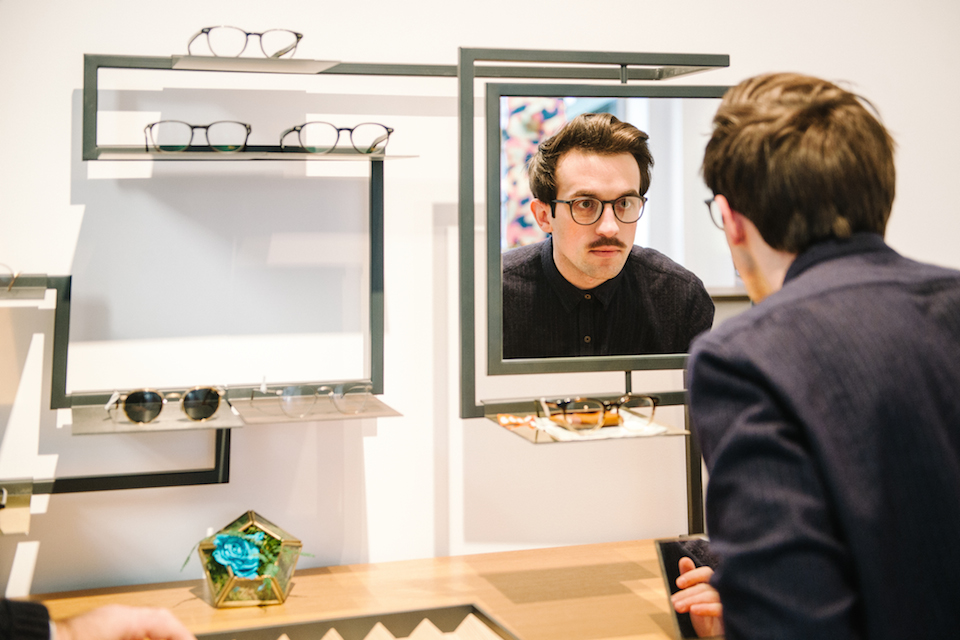 essayage lunette de vue opticien bruno zana