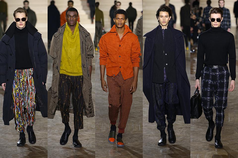 issey miyake paris fashion week fall winter 17 18