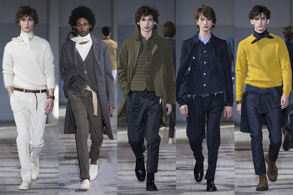officine generale paris fashion week fall winter 17 18