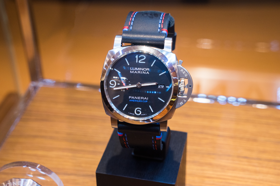 panerai luminor americas cup