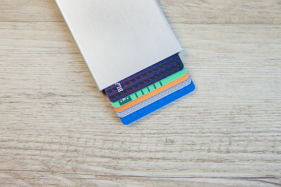 portefeuille aluminium Secrid