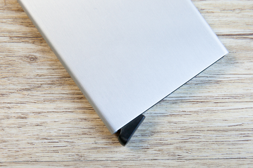 Portefeuille secrid finition aluminium