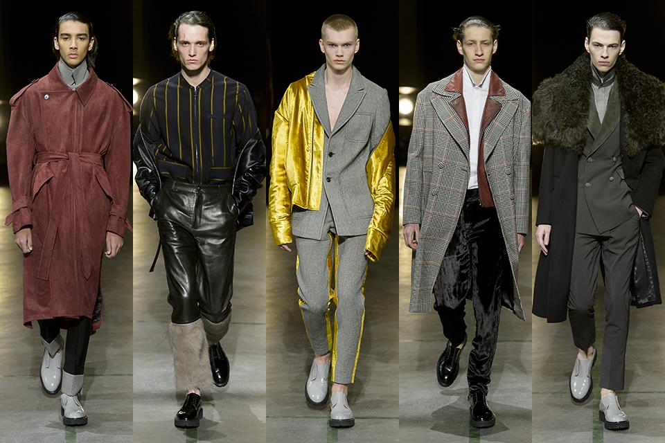 sean suen paris fashion week fall winter 17 18