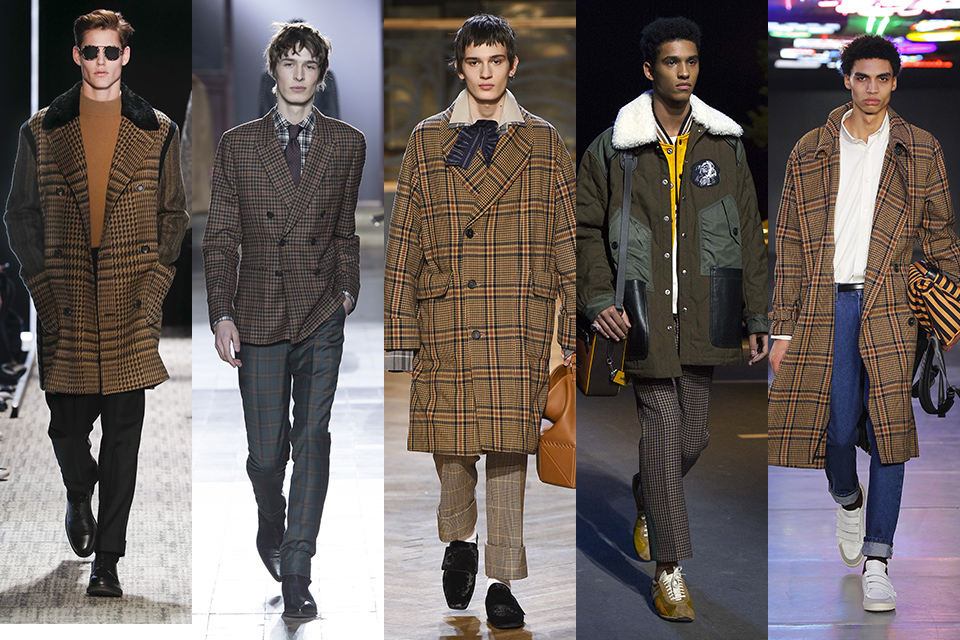 tendance carreaux fashion week
