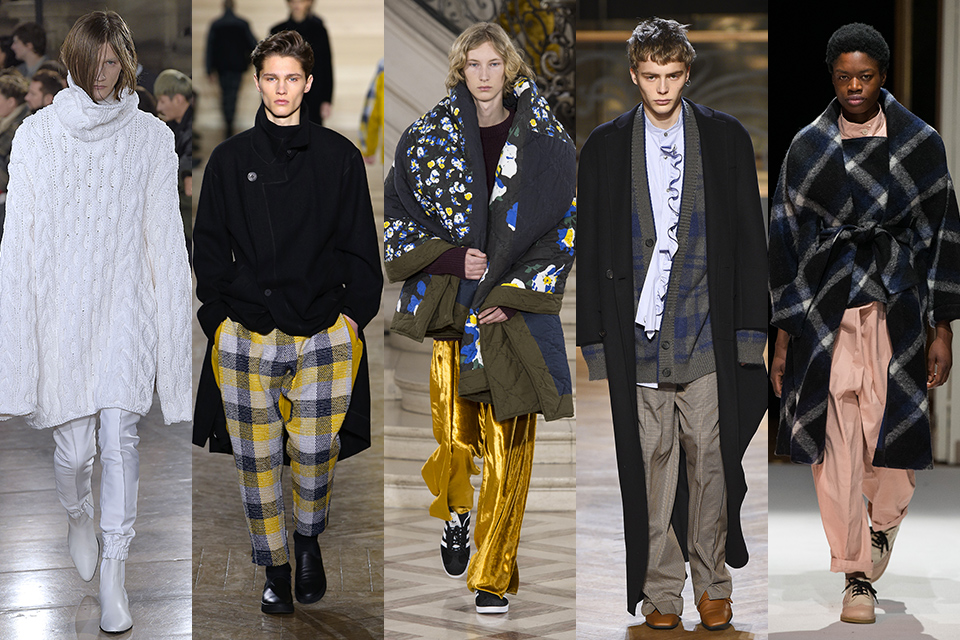 tendance cocooning confort paris fashion week