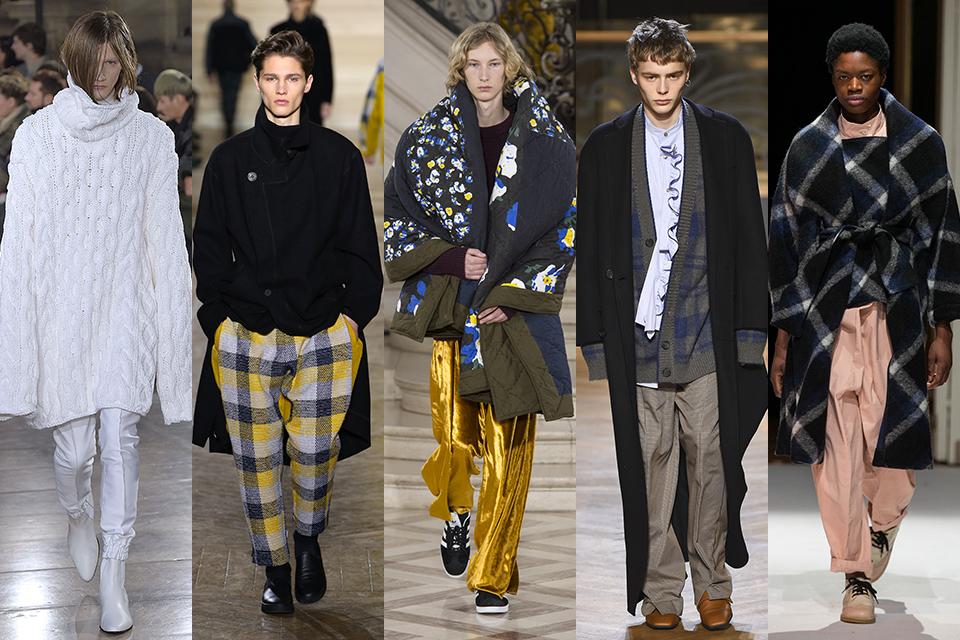 tendance cocooning confort paris fashion week