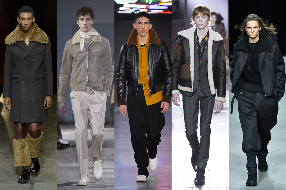 tendance col fourrure paris fashion week
