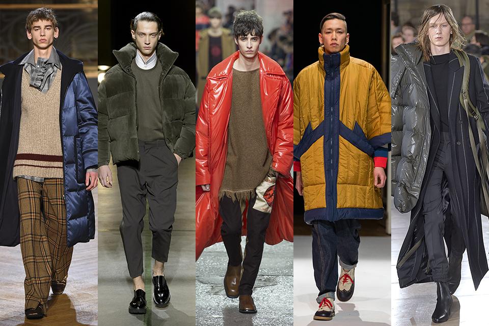 tendance doudoune paris fashion week