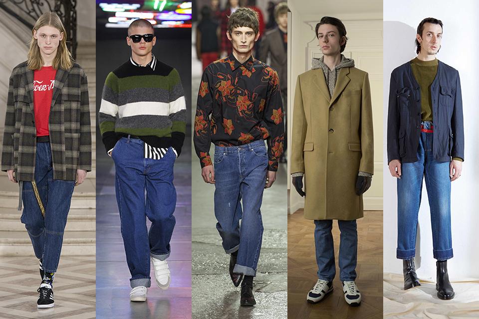 tendance jean retro vintage paris fashion week