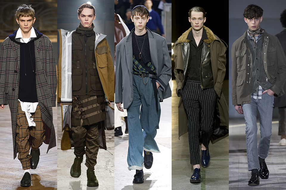 tendance layering paris fashion week
